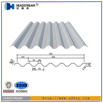 Europe Standard Corrugated Steel Sheet Steel Plate Floor