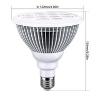 Tangtang Lighting PAR38 plant bulb E27 12W 15W 18W led grow light