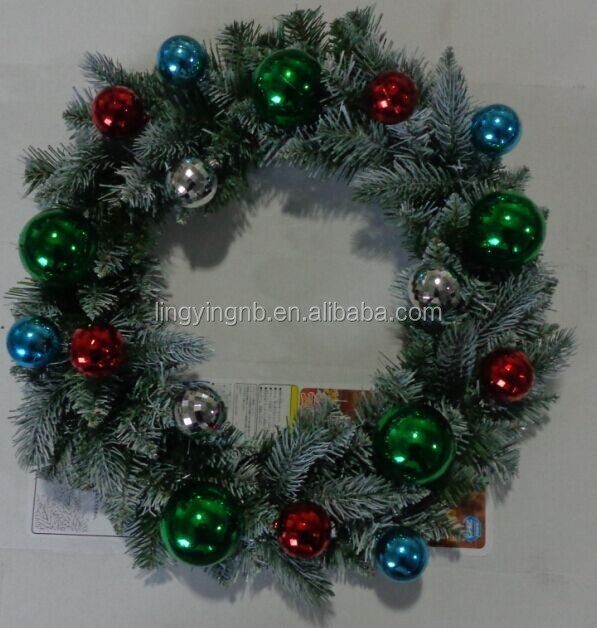 Wholesale christmas wreath with lights - Online Buy Best christmas ...