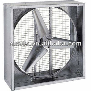Triangle Fans Direct-Drive Ag Fan - 55in. Dia., 44,500CFM, 1/2 HP, 380 Volt