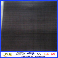 Alibaba Gold Member 80*80 Plain Steel Wire Mesh Net/Black Wire Cloth