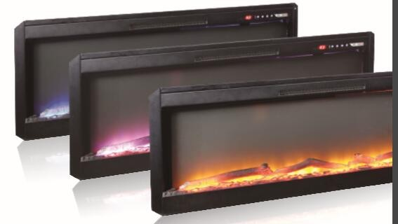 Portable 42 Inch Insert Electric Fireplace With Bluetooth