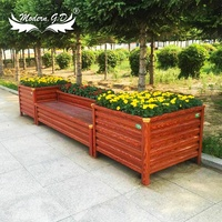china jardiniere wooden grain garden decorative planting box christmas planter boxes