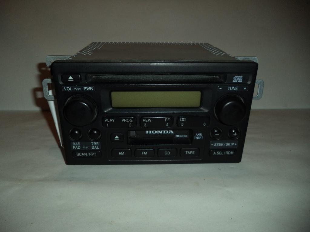 Cheap Accord Radio Code Find Deals On Line At 2001 Honda Stereo Get Quotations 01 02 Cd Player Tape 2002 5803