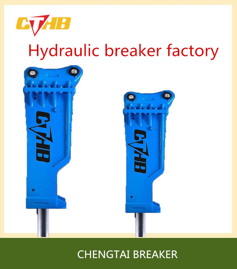 CTHB SB151 chisel 175mm BOX SILENCED hydraulic breaker rock for construction for excavator 40-55ton
