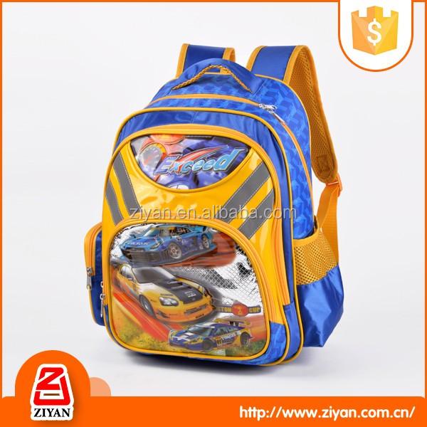 Boys 3d China Suppliers Sport Sport Car Race Brand School Bags ...