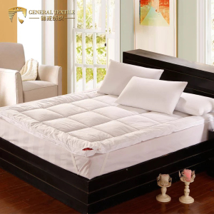 China supplier custom quilted hotel bed microfiber mattress topper