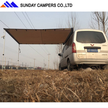 Pull Out Car Camping Side Awning 4wd Campers Racks Vehicle ...