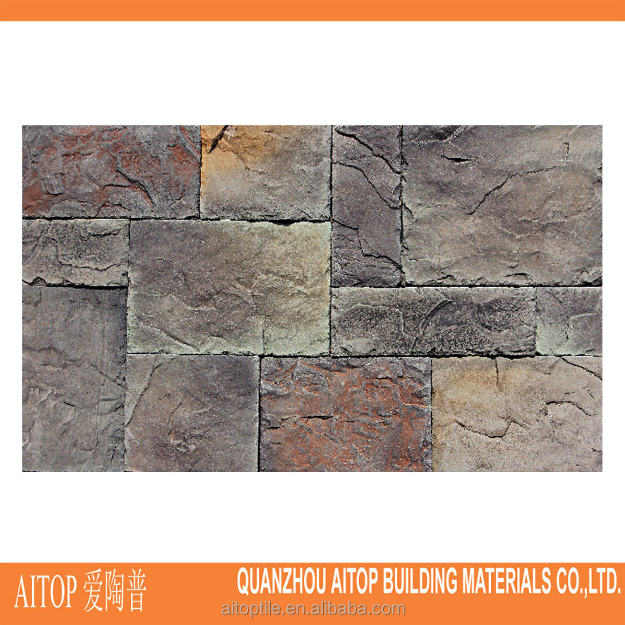 artificial culture stone wall brick, natural wall veneer ledge stone