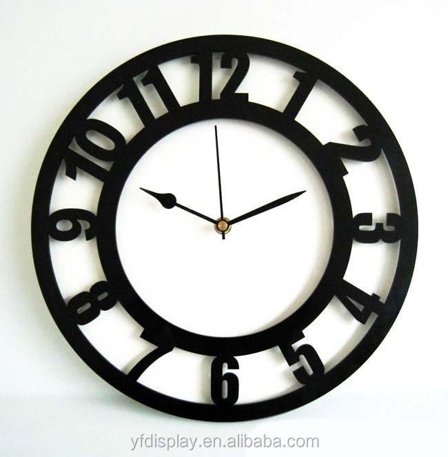 Home Goods Clocks: Popular Acrylic Wall Clock For Home Decoration