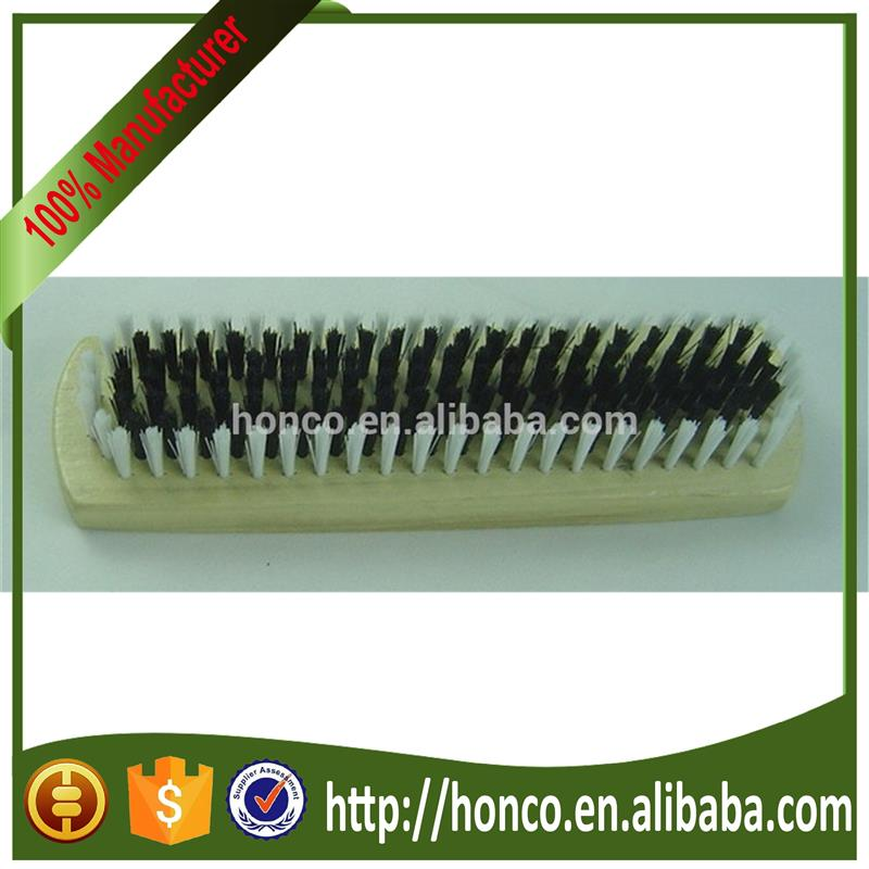 wooden PP hair shoe brush