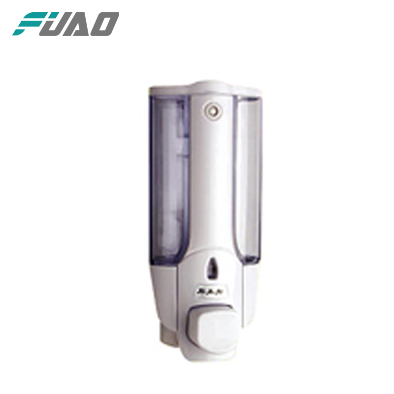 FUAO best price wall mounted ABS plastic liquid soap dispenser