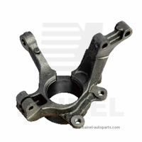 Steering front knuckle arm for LOGAN chassis steering and suspension system parts OE 6001548866LH 6001548864RH