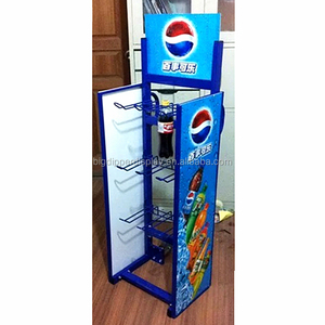 BDD-VB60 customized permanent water bottle rack display, cola beverages rack wholesale sales