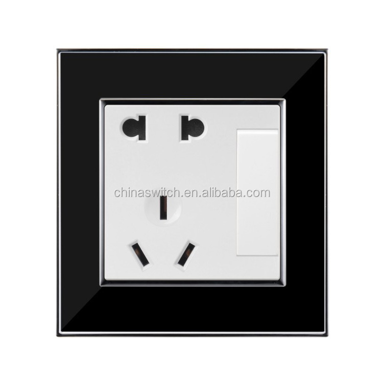 Wall Acrylic Material 2 Pin  U0026 3 Pin Socket Air Condition