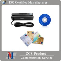 ZCS160 ZCS Desktop Application Manufacture Reader Magnetic Swiper, IC chip/ Sam/ NFC 13.56 mhz Card reader / writer With SDK