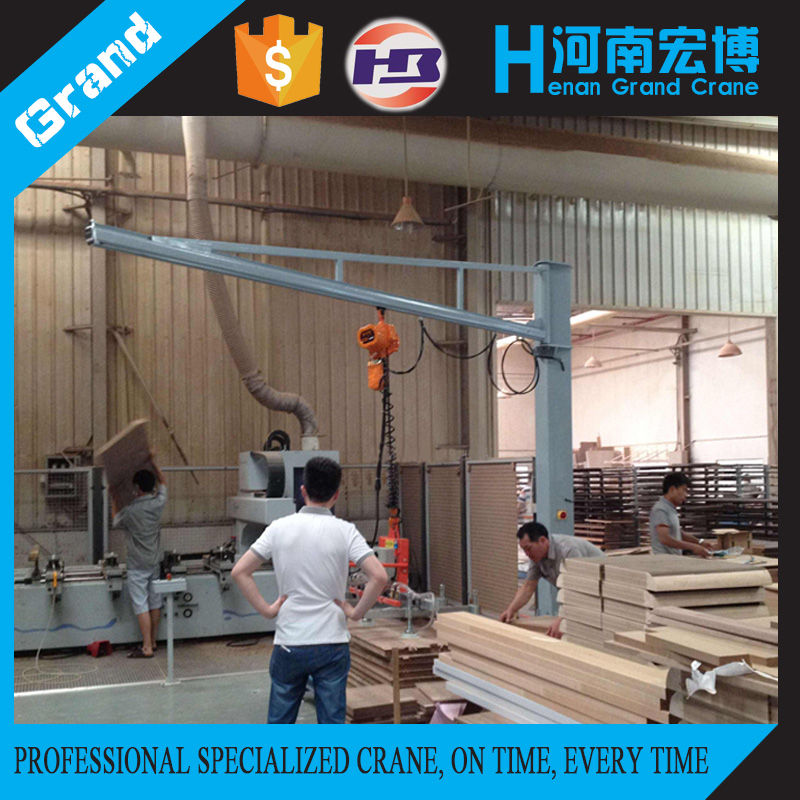Mini Electric Crane Price BZ Cantilever Material Handling Crane