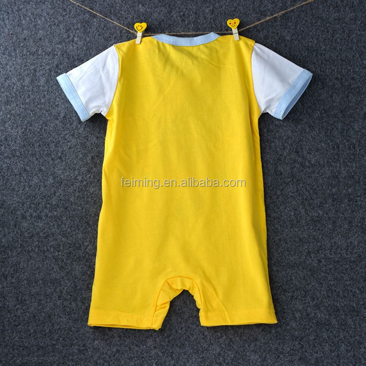 China baby clothes fancy baby boy clothes summer newborn baby romper