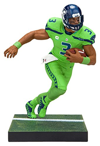McFarlane Toys EA Sports Madden NFL 18 Ultimate Team Series 1 Russell  Wilson Seattle Seahawks Action 26ef6c105
