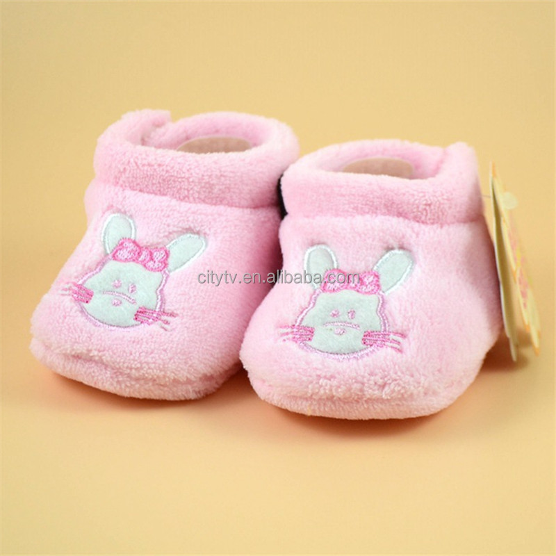 Baby Shoe Extra Thick Coral Baby Shoes With Warm Baby Shoes