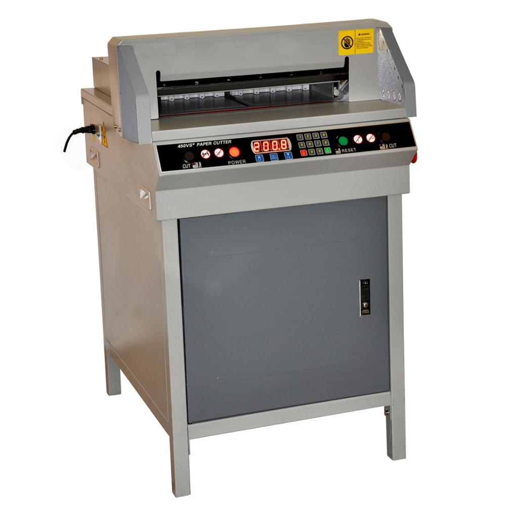 G450VS+ A2 size CNC electric paper cutter machine/guillotine paper cutter with keyboard