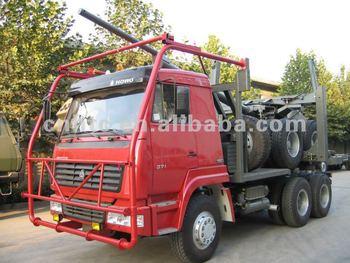 Sinotruk 6x4 Log Carrier Truck - Buy Log Carrier Truck,Log