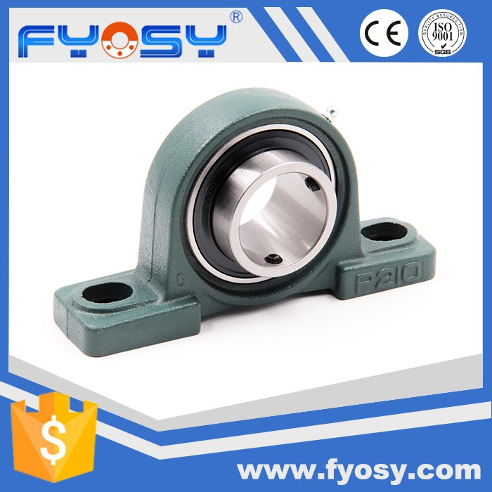 chrome steel bearing pillow block p204 p205 p206 UCP207 pillow block bearing p207