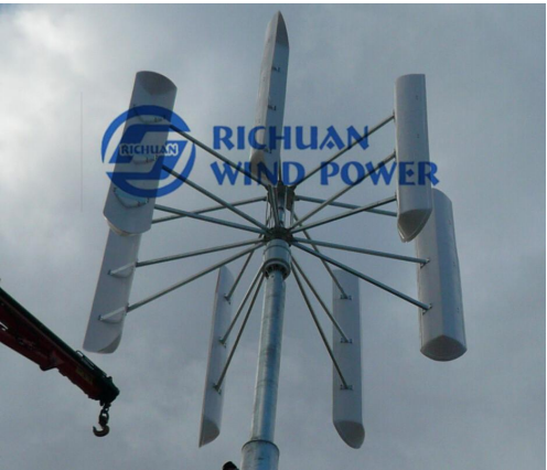 10kw Vertical wind turbines home use.coreless generator.helical magnet generator prices in pakistan