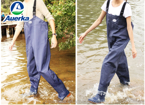 plus size chest waders Breathable fishing wader clothing stocking foot waders