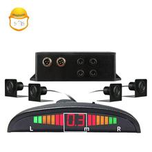 LED display auto car reverse radar anti-collision parking sensor system for truck