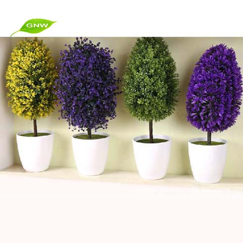 gp005 gnw flower plants sale artificial bonsai tree for wholesale table centerpiece and office table decoration bonsai tree office table