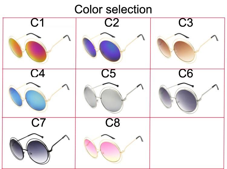 Lunettes de soleil UV400 pour femmes, Vintage, surdimensionnées, monture creuse, en alliage, nouvelle collection 2020
