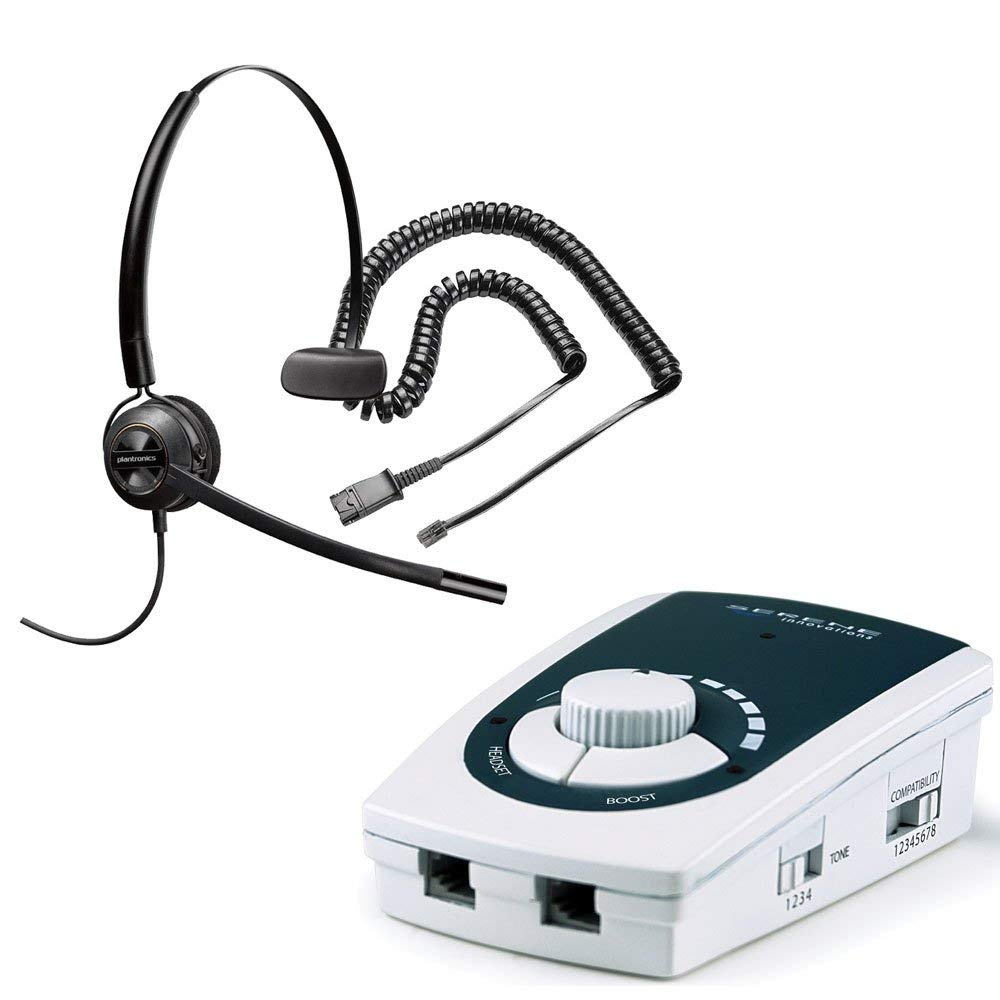 Serene Innovations UA-50 Business Phone Amplifier with EncorePro 540 Headset