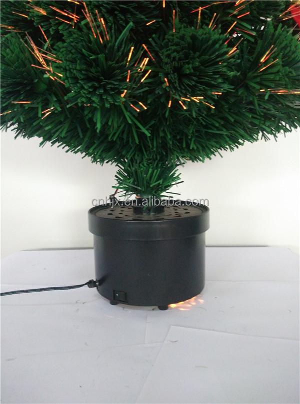 a964e40d58f 90 cm hermoso rojo lazo decorativo LED árbol de Navidad luz de la vela  giratoria soporte