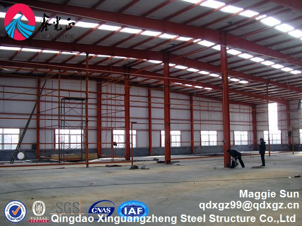 steel structure erection and fabrication builder warehouse