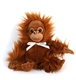 Easter Stuffed Animal / Plush Easter Stuffed Animal Orangutan/ Easter Bunny Plush Gorilla Monkey Stuffed Animal