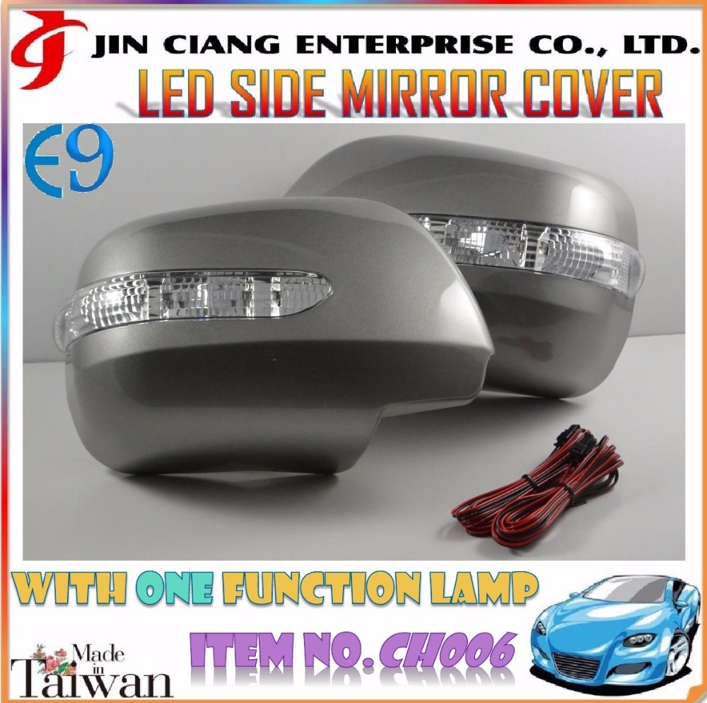 Body Kit product LED SIDE REAR MIRROR COVER For TOYOTA ESTIMA