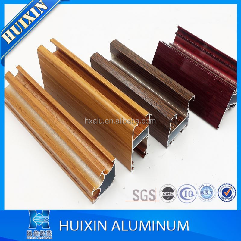 Powder coating/wooden grain/eletropheresis aluminium windows materials certificate of quality and quantity