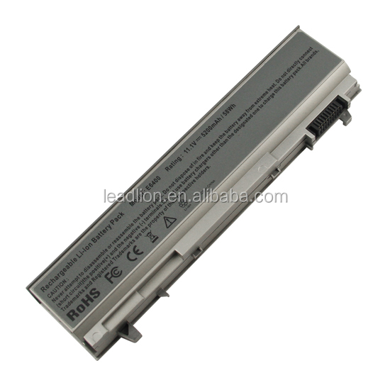 Battery for E6500 E6410 E6510 PT434 PT435, Laptop battery for Dell Latitude E6400