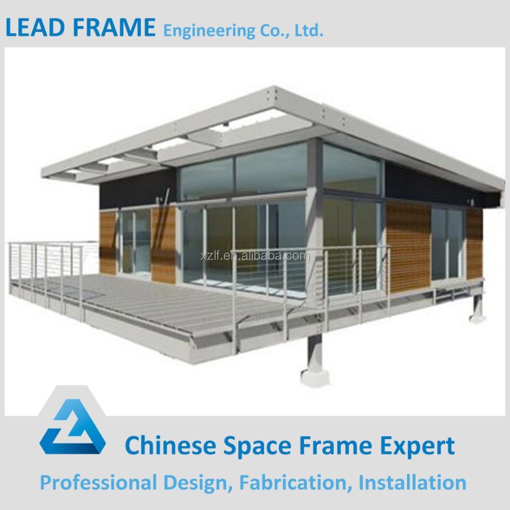 Leggero telaio building costruzione prefabbricata casa con - Casa in acciaio prezzo ...