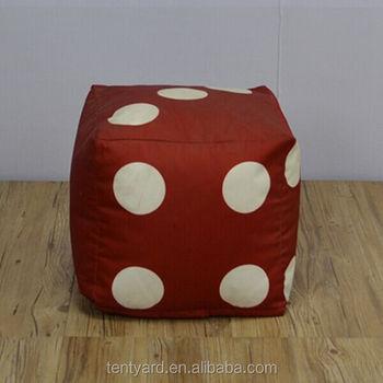 Modern Sofa Cube Stool Dice Bean Bag Chair
