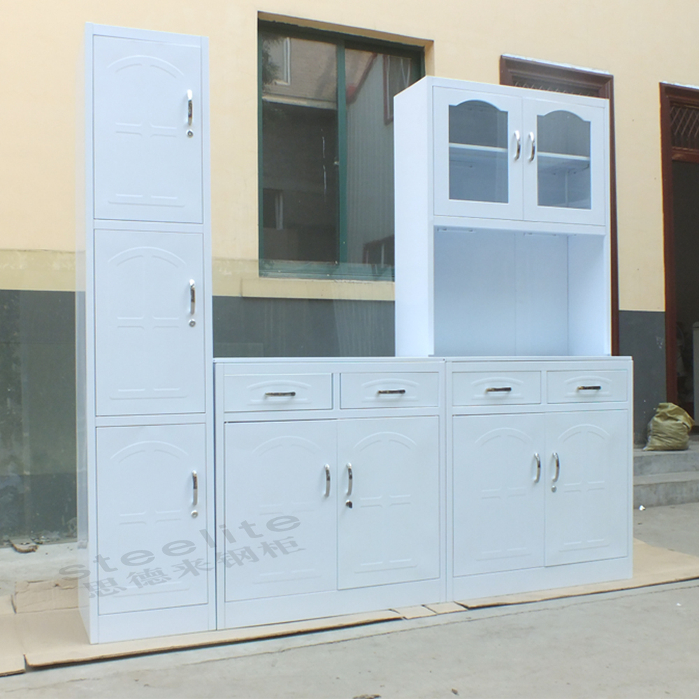 Metal Kitchen Furniture Cheap Price Metal Kitchen Units Design Luoyang Steel Kitchen
