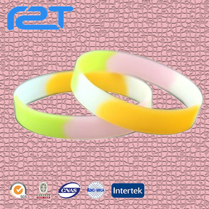 Cheap custom rubber wristbands nfc silicone wrist band