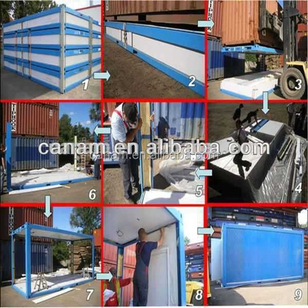 Modular Flat-pack Waterproof Folding Container House For Office