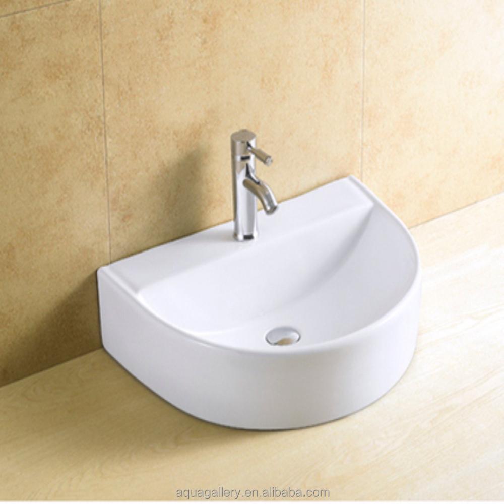 Bathroom Half Round Ceramic Washing Hand Basins Basin Wash Sizes Product On Alibaba