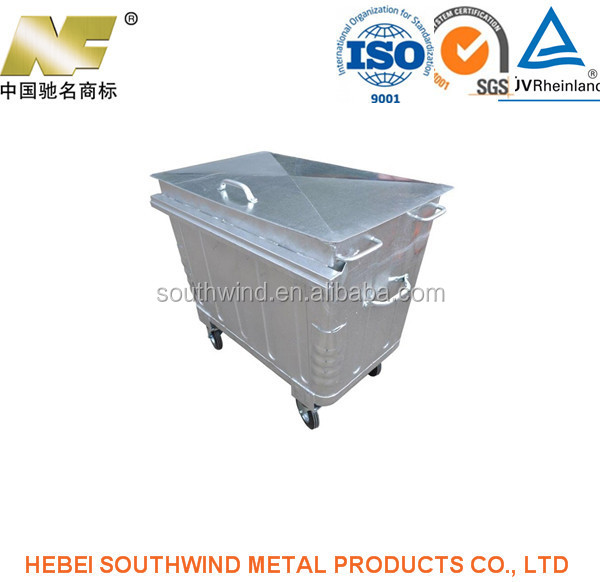 oem &Export Light Duty Metal Steel Lids for Metal Bins , Trash ,Industrialization or Automation Manufacturer