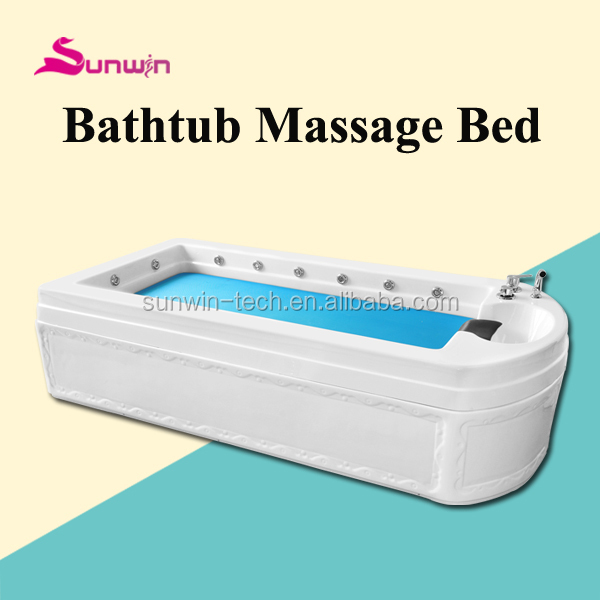 SW-308S Salt Bath Massage Spa Capsule Bed &health care equipment&hydro therapy massage bed