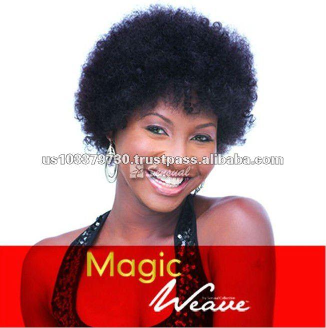 Magic Weave Human Hair Afro Curly Disco Wig Buy Disco Wigafro
