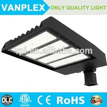 Factory price DLC Approved ip65 120w LED shoe box retrofit kit outdoor street lighting /LED Parking lot light