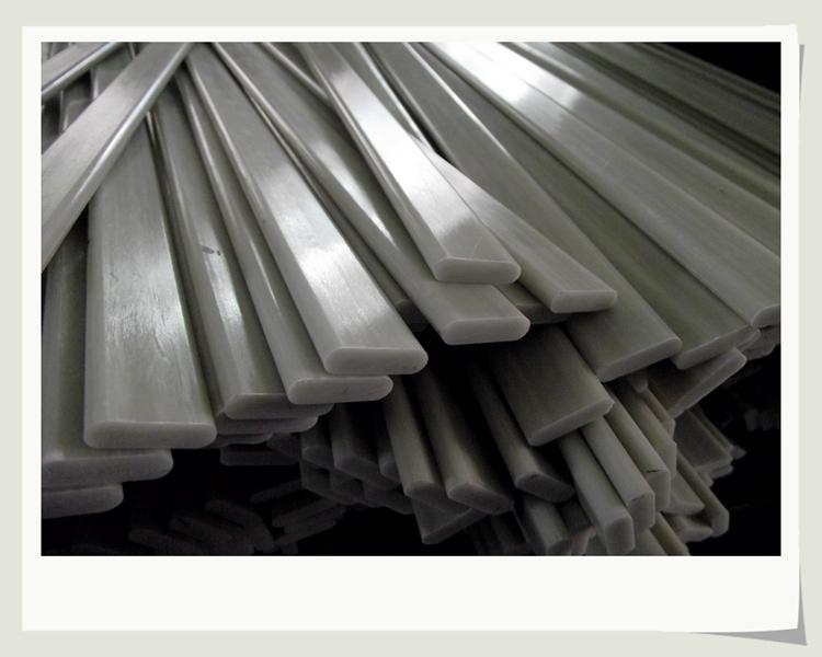 Anti-corrosion Fiberglass Flat Strips,5mm Thickness Frp
